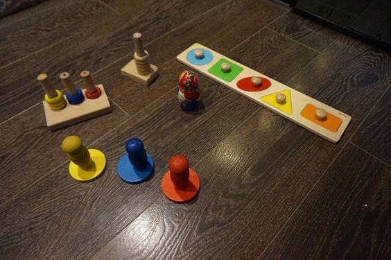 kreatywnyMaks: Zabawy matematyczno - sensoryczne dla roczniaka