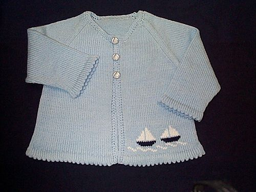 Free Knitting Patterns For Hooded Scarves : Ravelry: Machine Knit Babys Raglan Sleeve Cardigan pattern by Roni Knuts...