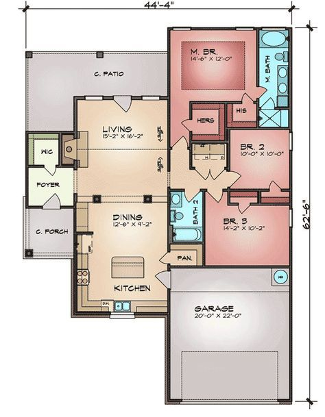 Plan 36946jg Beautiful Curb Appeal In 2020 Foyer Decorating House Floor Plans House Plans