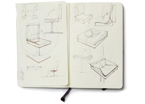 concept chair sketch idea