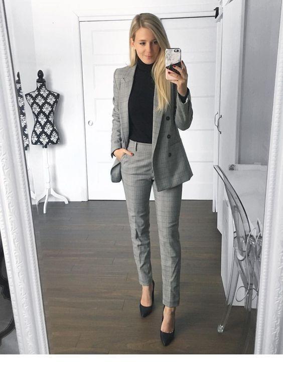 40 Trendige Arbeitskleidung Und Buro Outfits Fur Geschaftsfrauen