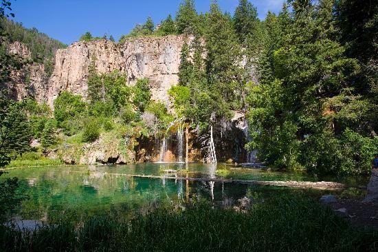 Colorado: hanging lake - spring