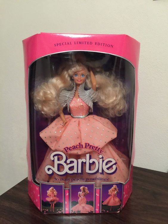 Vintage 1989 Special Limited Edition Kmart Peach Pretty Barbie 4870 | eBay