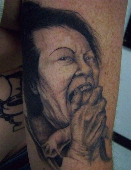Bad Tattoos 13 More Of Worst Horrible Bad Tattoos Tattoos Gone Wrong Funny Tattoos