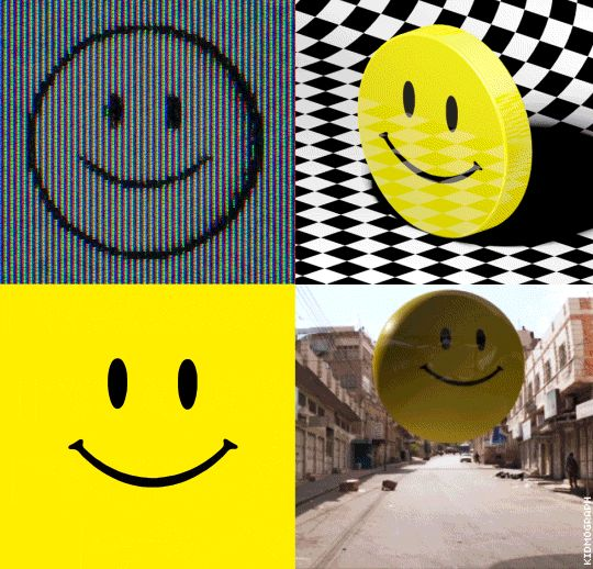 Smiley Study.A few Smiley versions for a couple of projects i've been working on lately, tested on 540px wide.