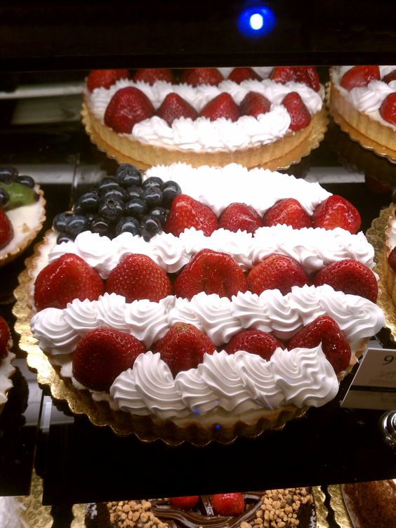 fourth of july berry trifle recipe