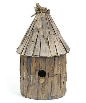 Love this Natural Driftwood Birdhouse by Hip Vintage on #zulily! #zulilyfinds