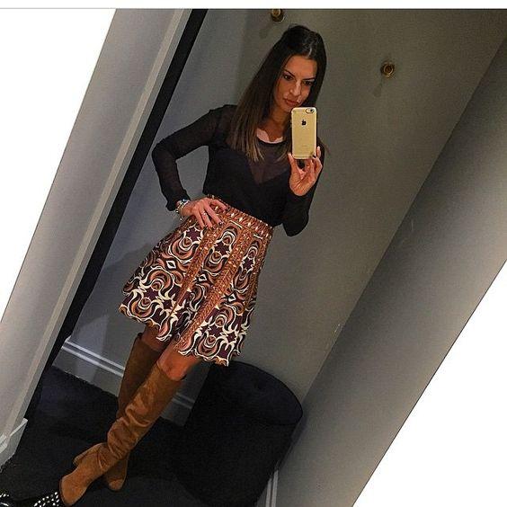 Saia disponível na Queen 21  #moda #top #tigresse #queen21 #sóvem #vem #new #love #luxo #inlove