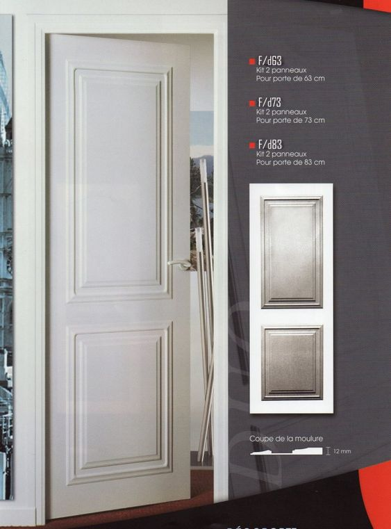 D coration on pinterest for Decoration cacher une porte