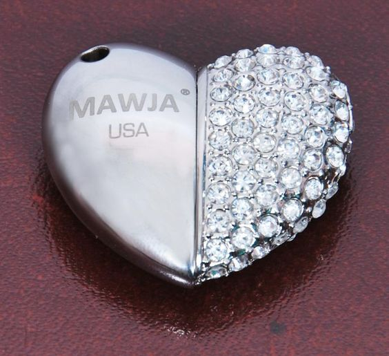 Best Gift Item   A token on love   Jewellery shaped USB Flashdrive  4 GB to 64 GB  High Quality :CE FCC RoHS  Best Samsung Chip  1 year guarantee  5+ year life    Brand: MAWJA (USA)  Contact:  Technowave LLC  Email: technowavellc@gmail.com