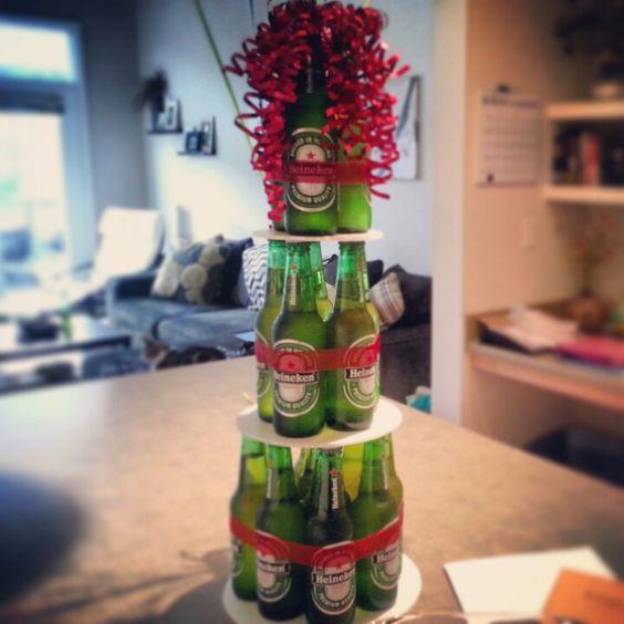 Beer Bottle Cake Bottle Cake And Beer Bottles On Pinterest