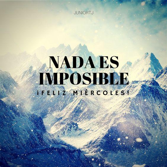 Nada es imposible...