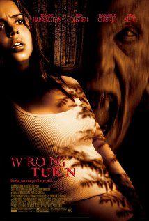 Wrong Turn: Full Movie, Favorite Horror, Favorite Movies, Movie Poster, Scary Movie, Horror Movie, Horror Dvd