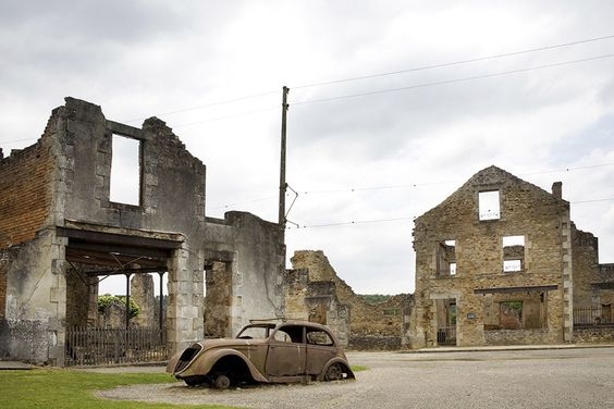 Oradour-sur-Glane, France | Haunting Photos Of Abandoned Cities Around The World