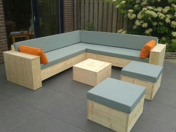 Conjuntos De Muebles Con Palets Para Terraza De Diseno Minimalista En 2020 Muebles Para Terrazas Muebles Terraza Muebles Con Palets