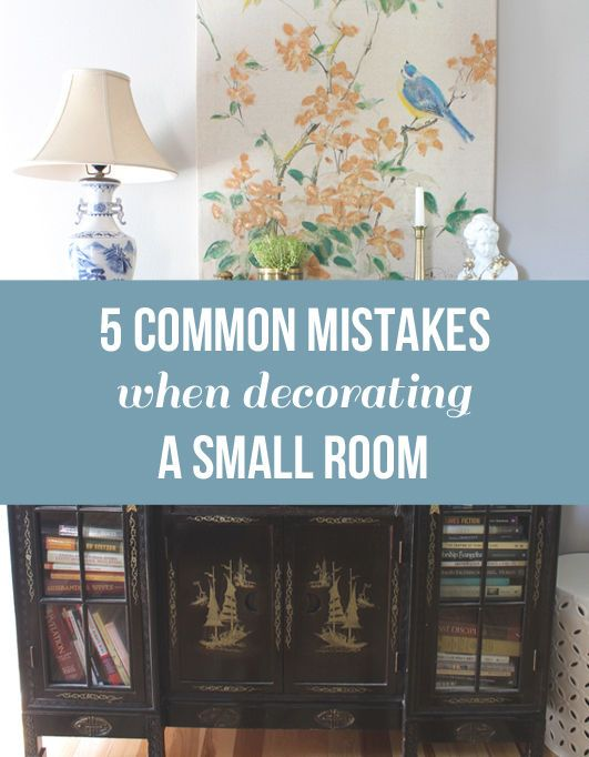 5 common mistakes when decorating a small room small house ideas mr and mrs interior - Common home design mistakes stress later ...