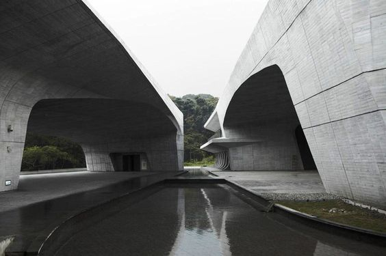norihiko dan and associates: sun moon lake visitor center