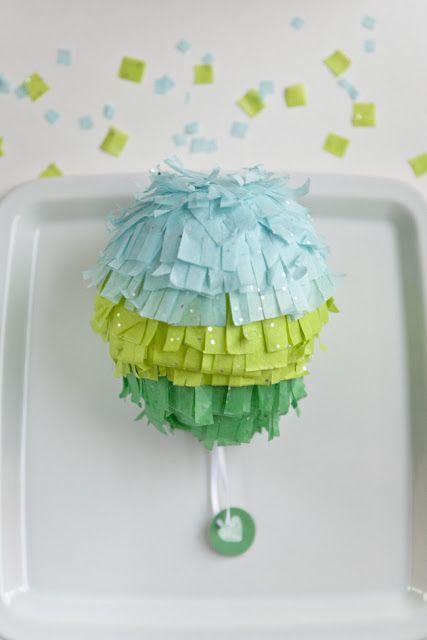 mini piñatas #diy