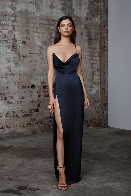 Info The Mila Is The Updated Version Of Our Best Ever Selling Akasa Gown Using The Same High Quality Satin Fabric And Fan Favo Dresses Fashion Evening Dresses