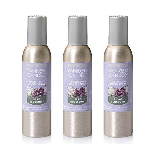 Yankee Candle Concentrated Room Spray 3 Pack Lilac Blossoms Yankee Candle Fragrant Room Spray Room Spray