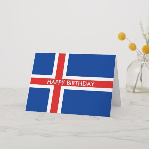 Pin On National Iceland Flag Personalized Custom Merchandise Flags