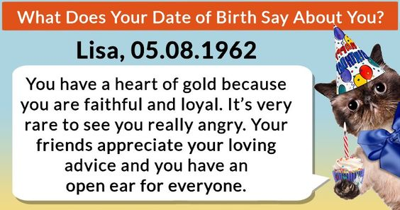 What Does Your Date of Birth Say About You?
