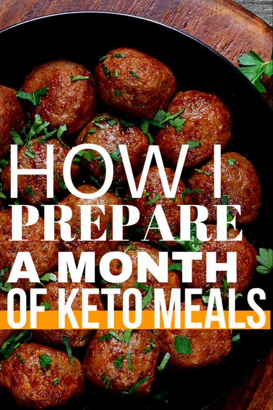 Keto Meals for an Entire Month