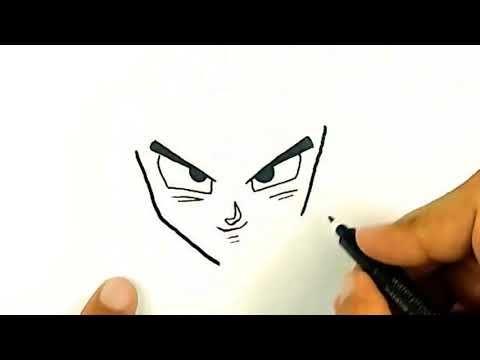 Como Dibujar A Goku Normal Youtube Como Dibujar A Goku Dibujo De Goku Goku