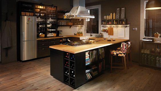 363 best Kuchyňa images on Pinterest Kitchens, Kitchen islands