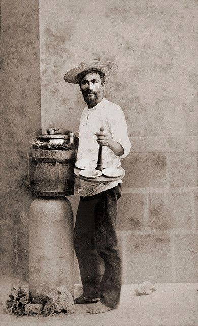 Mexican Icecream Vendor