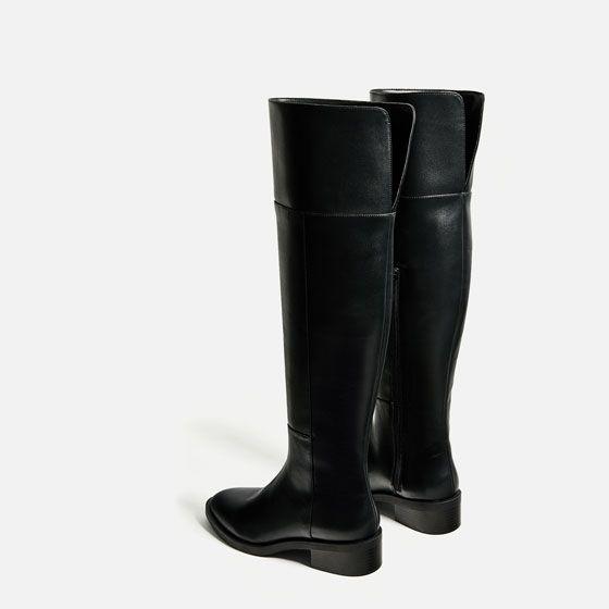 Image 3 de BOTTES PLATES XL de Zara