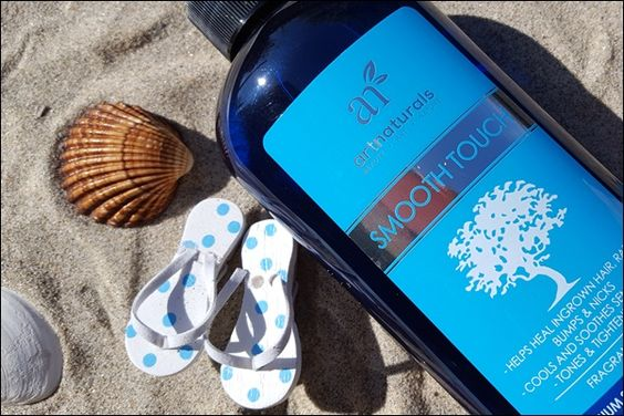 ArtNaturals Smooth Touch gegen Rasurbrand Sommer Körperpflege prsample