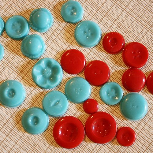 Chocolate Buttons- tutorial on candy molds