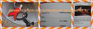 Testmonster Gewinn Bodyflying Jochen Schweizer