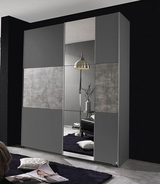Schwebeturenschrank Prenzlau Mit Spiegel Schwebeturenschrank Innenarchitektur Schlafzimmer Modernes Schlafzimmer Design