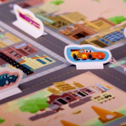 Cars Radiator Springs Printable Playset