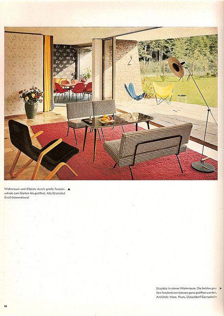 Die schöne Wohnung 1959 - 2 by diepuppenstubensammlerin, via Flickr