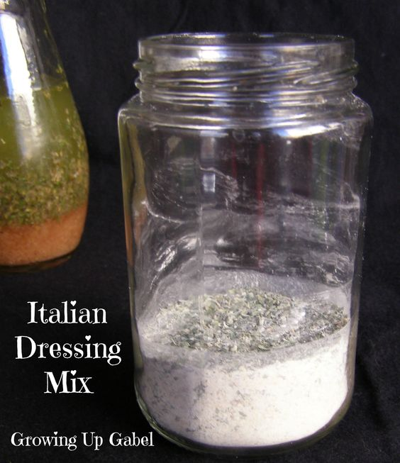Easy homemade italian salad dressing recipe