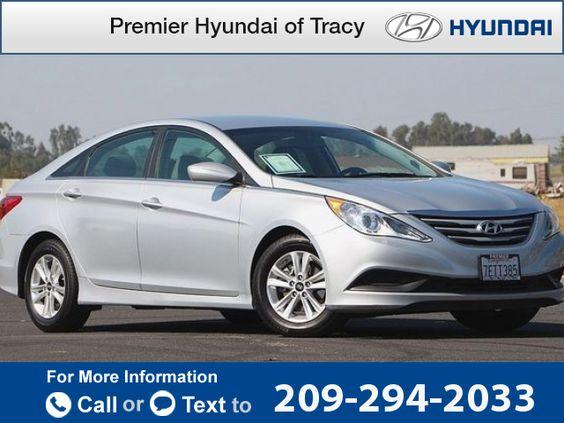 2014 *Hyundai*  *Sonata* *GLS*  35k miles Call for Price 35670 miles 209-294-2033 Transmission: Automatic  #Hyundai #Sonata #used #cars #PremierHyundaiofTracy #Tracy #CA #tapcars