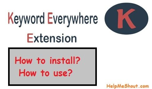 How To Install Keyword Everywhere Extension And Use Keyword Planner Google Trends Keyword Tool