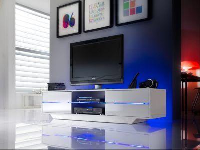 TV-Lowboard weiss Hochglanz Jetzt bestellen unter    moebel - wohnzimmer weiß hochglanz