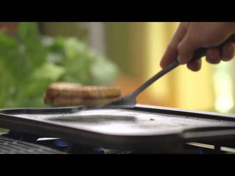 How to Griddle with Lodge Cast Iron - YouTube
