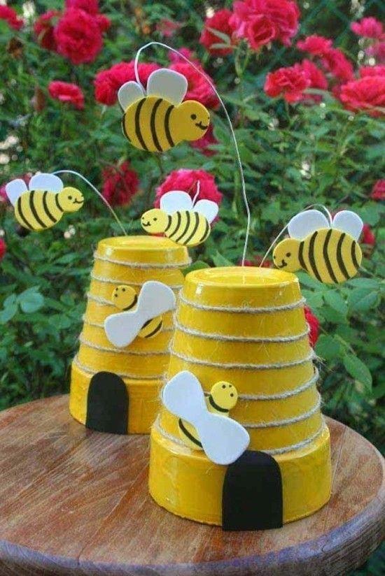 Upcycling Gartendeko Selber Machen 70 Ganz Einfache Gartenideen Mit Wow Effekt Gartendeko Selber Machen Gartenbasteln Fur Kinder Kinder Garten