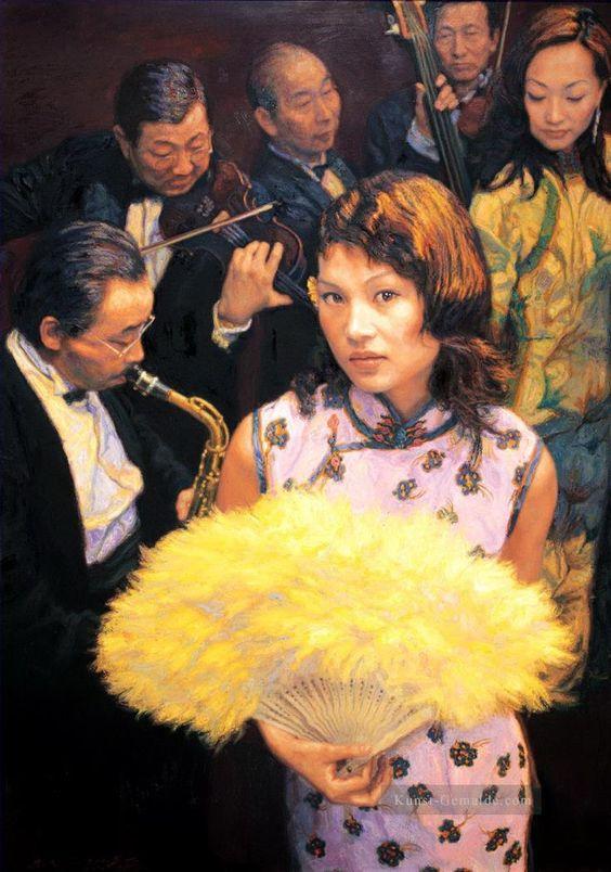 Chen Yifei - Shanghai Memories II (Memory of Shanghai)