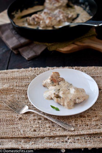15 minute Sour Cream Skillet Chicken