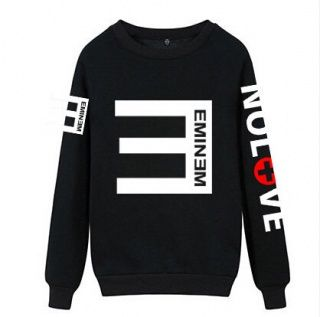 Eminem no love sweatshirt XXXL cheap crew neck sweatshirts ...