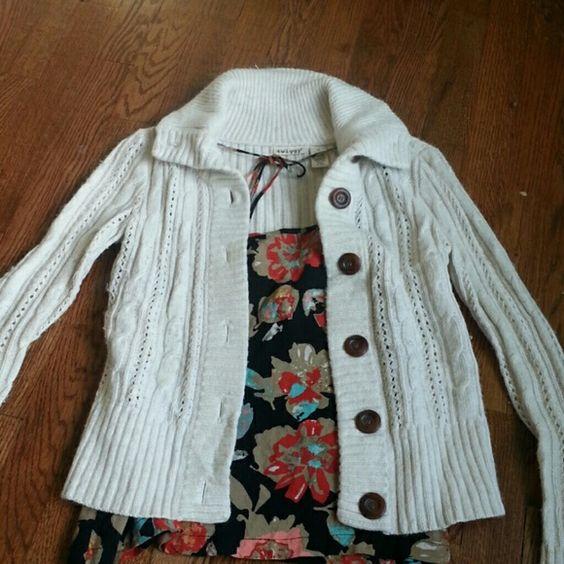 Selling this Darling Twiggy sweater! in my Poshmark closet! My username is: jenylulu. #shopmycloset #poshmark #fashion #shopping #style #forsale #Twiggy #Sweaters