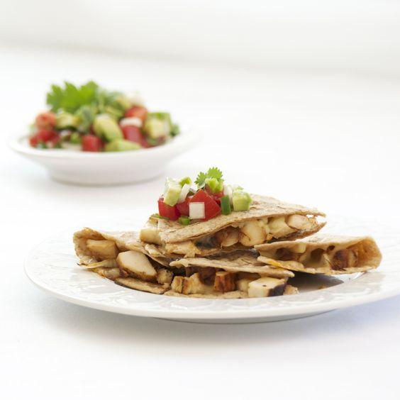 Quick Chicken Quesadillas Recipe - Pick Fresh Foods & ZipList
