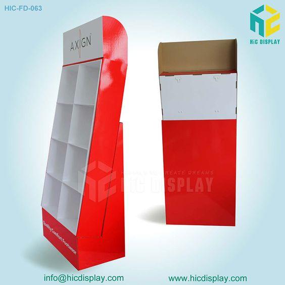 Soporte de exhibición de papel para los deportes de la exhibición del zapato…
