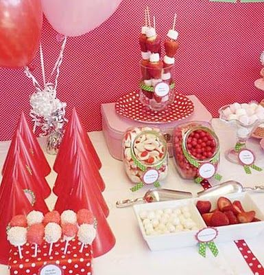 Sweet Strawberry Party  from sweetly sweet...